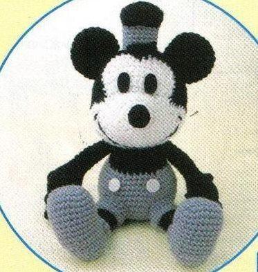 amigurumi pattern crochet mickey pdf pattern von YourPatternShop ...