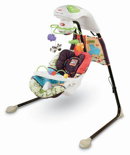 Fisher-Price Cradle \'N Swing, Luv U Zoo - http://www.discoverbaby ...