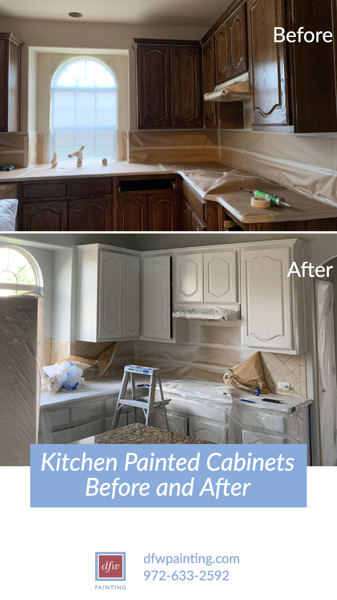 Kitchen Cabinet Refresh Painting Kitchen Cabinets Dfw Painting In 2020 Painting Kitchen Cabinets Refinishing Cabinets Cabinet