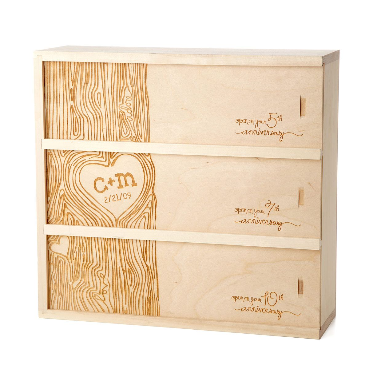 Wine Box Guest Book Alternative Sign The Outside Of Or Write Notes