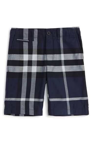 9b3863cd1e59 Burberry  Tristen  Check Pattern Shorts (Little Boys   Big Boys) available  at  Nordstrom