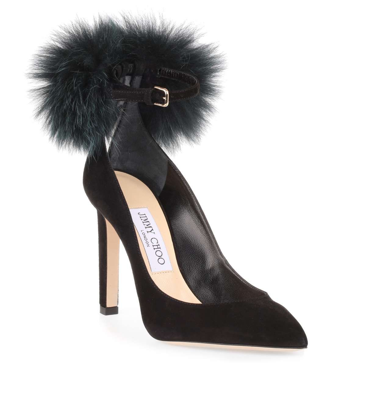 Clearance Collections Outlet Genuine Boots suede Fur upper Pompom brown grey Jimmy Choo London 2018 For Sale Sale Best Seller 2018 Newest qFWfY