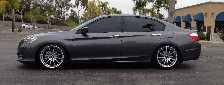 2013 Honda Accord Lowered With 19 Wheels Cars Honda Honda