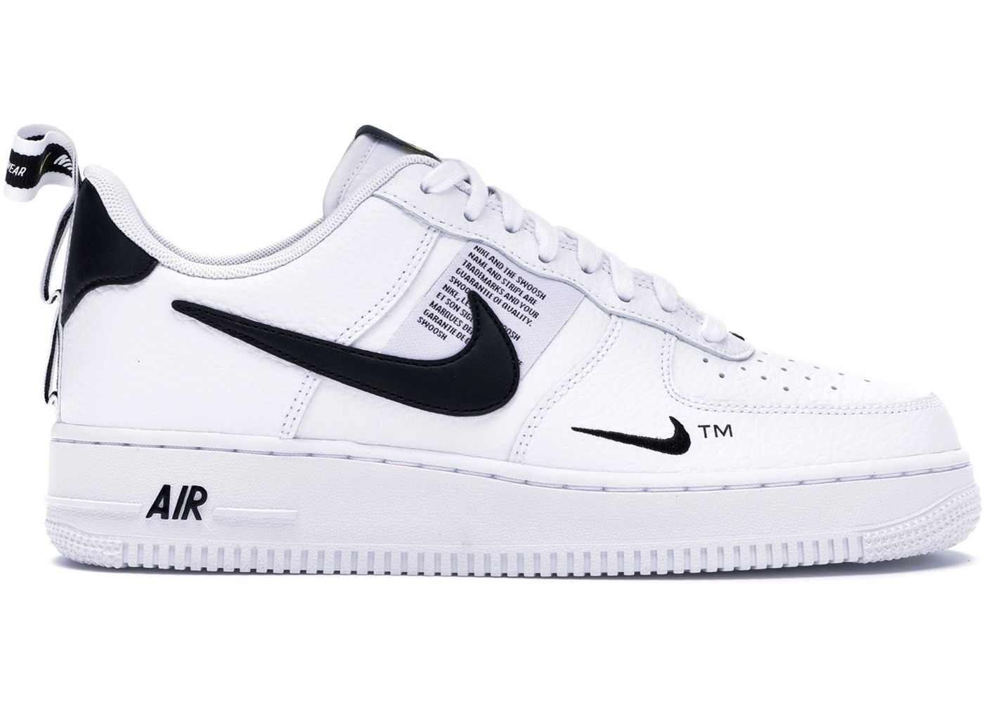Nike Air Force 1 Low Utility White Black In 2020 White Nike Shoes Nike Air Shoes Air Force Shoes