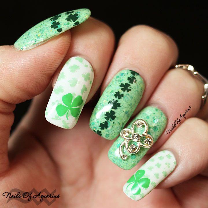Happy St. Patrick\'s Day with Serum No 5 | Serum, Nail nail and ...