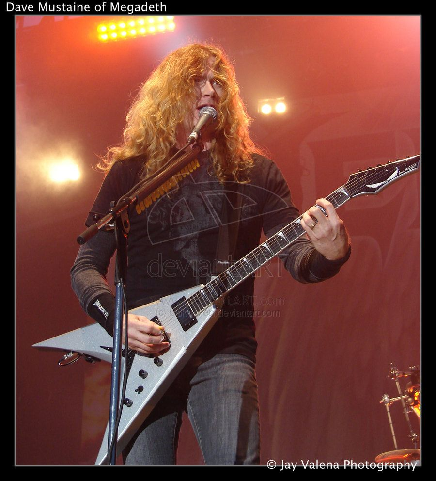 "David Scott ""Dave"" Mustaine Is An American Musician, Best"