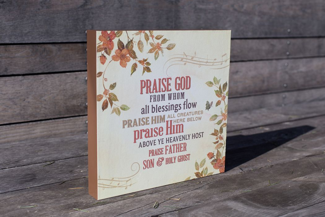 Lyric praise god from whom all blessings flow lyrics : Praise God from whom all blessings flow. Praise Him all creatures ...