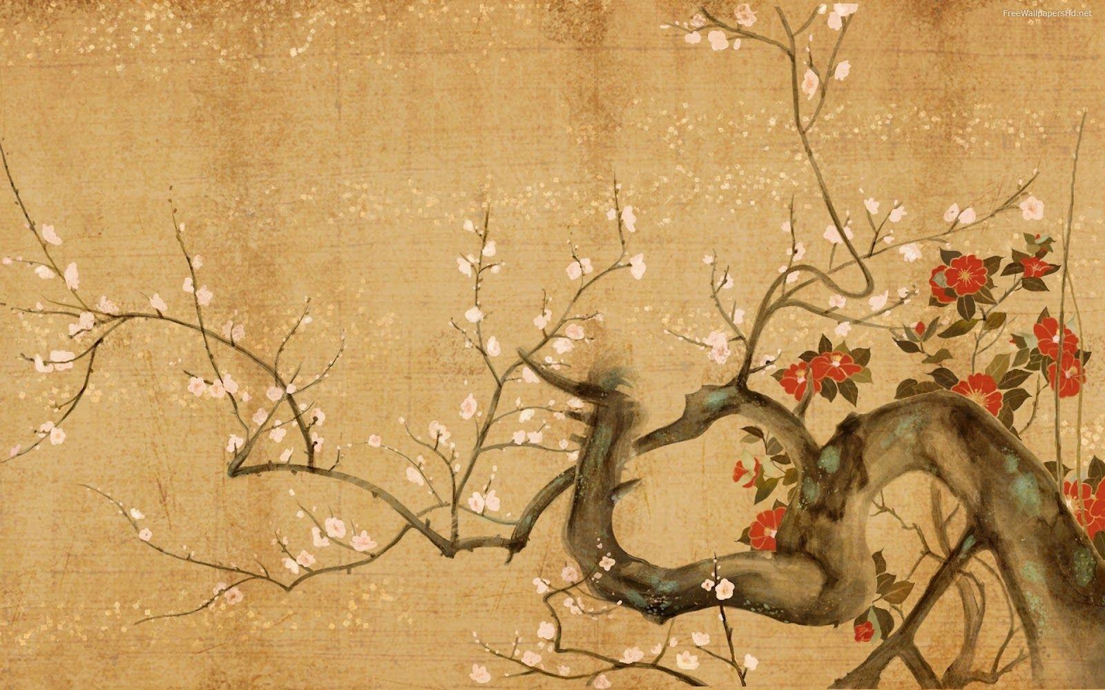 Asian style desktop wallpaper