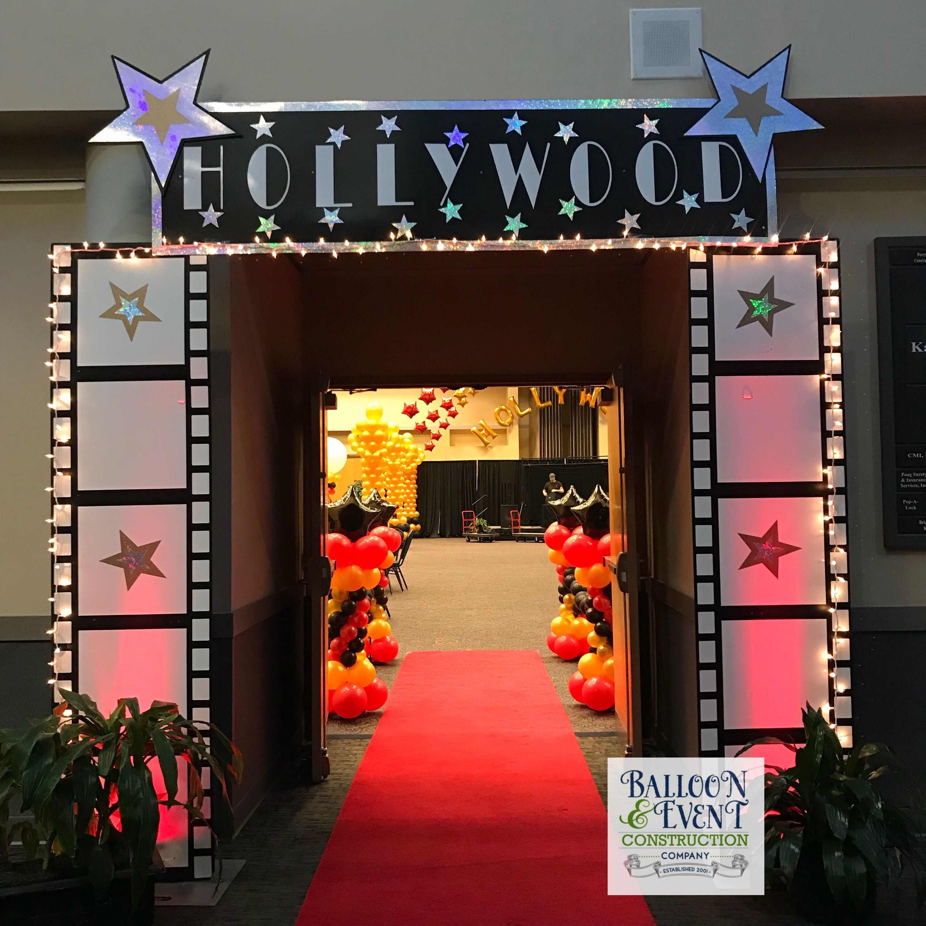 Prom Hollywood Entrance Decor For You All Your Red Carpet Affairs