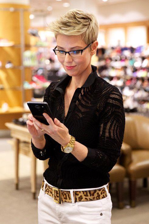 Favoriete Speciaal voor dames met een bril! Heerlijke korte kapsels voor @NF03