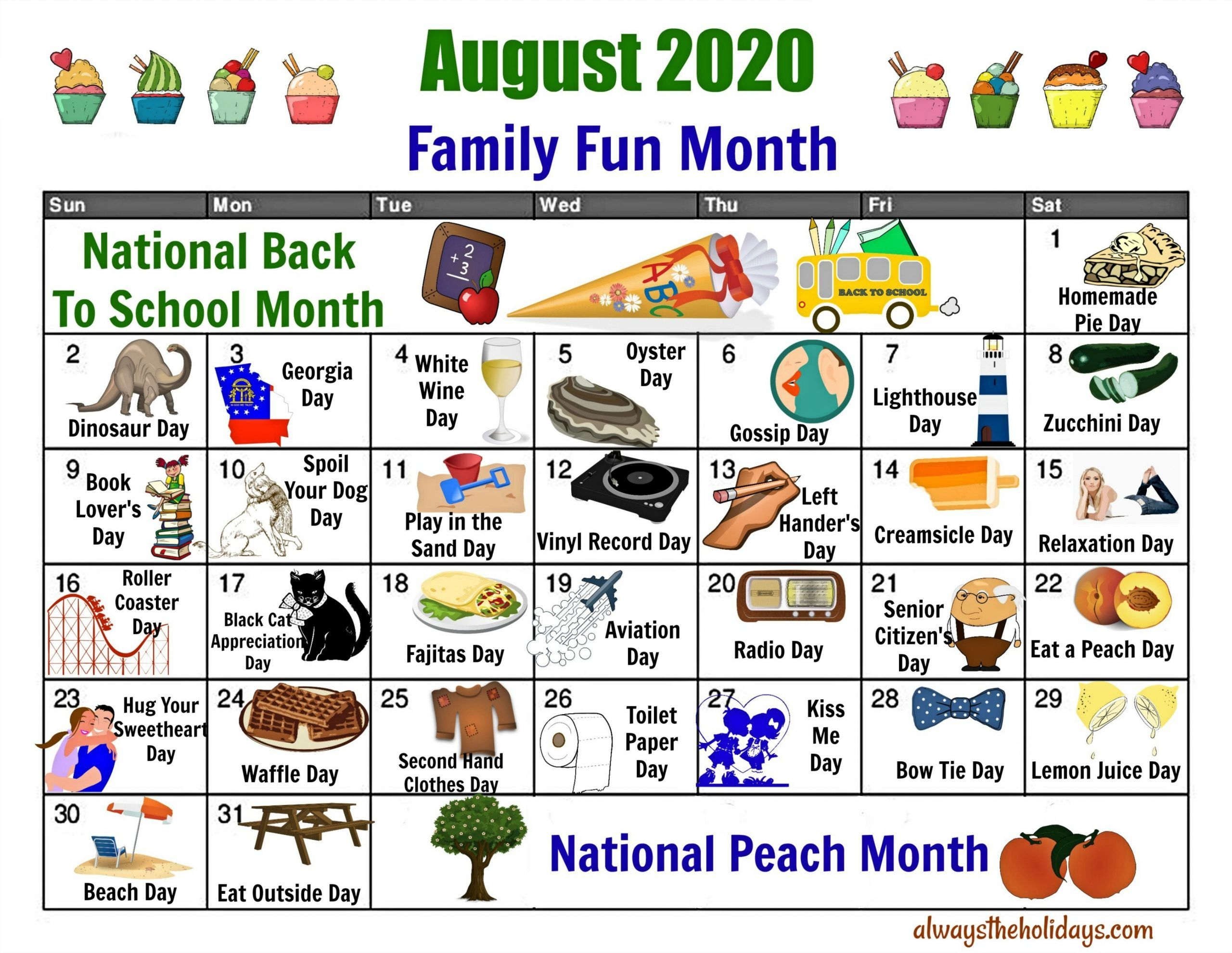 Printable Calendar 2021 National Days in 2021 | National day