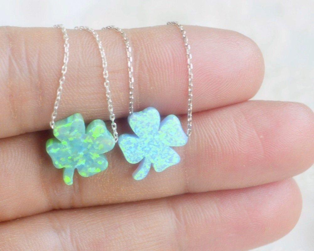 Shardon Womens Petals Pendant with White Created Opal