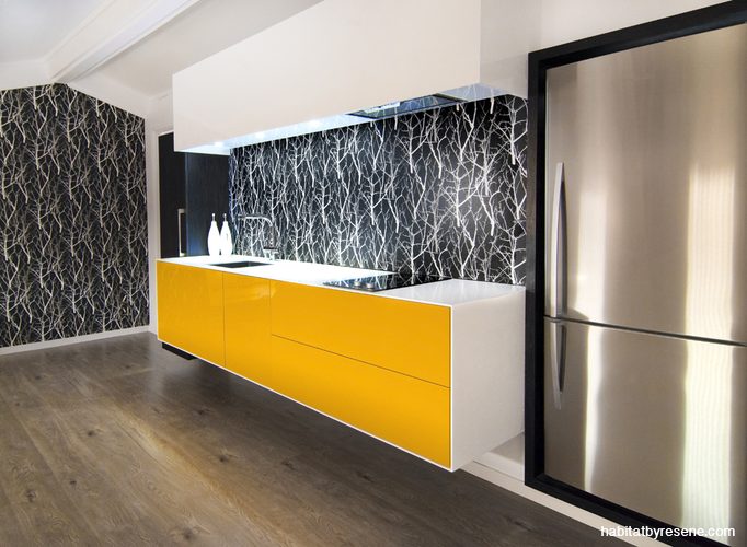 Affectionately Dubbed The U0027yellow Bikiniu0027, This Striking Kitchen  Demonstrates That Small Doesnu0027t Mean Insignificant. Kitchen Designer Mark  Bruce Of ...