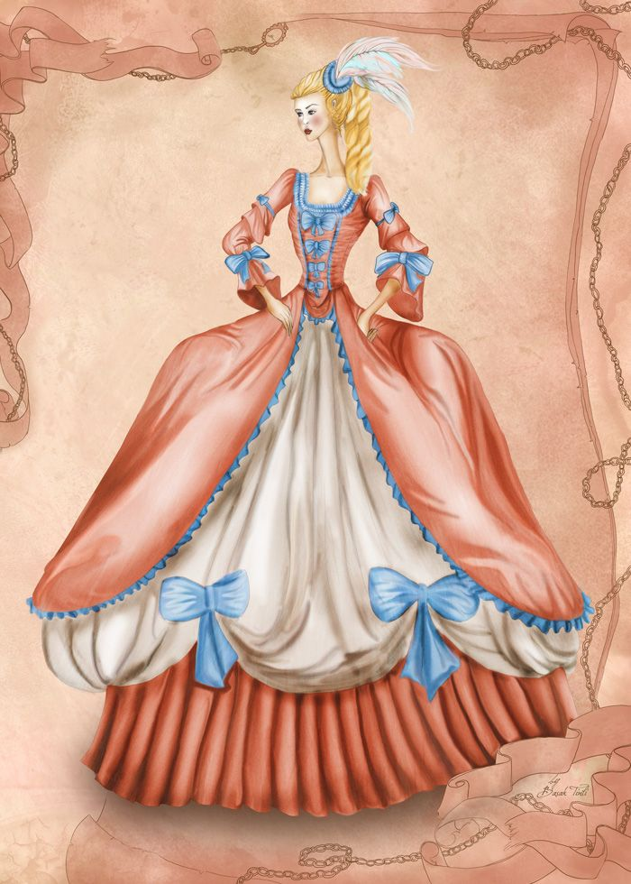 Illustration From The Book Complete Fashion Designers Guide By Basak Tinli If You Want To Draw Illustr Fashion Illustration Fashion Designer S Baroque Fashion