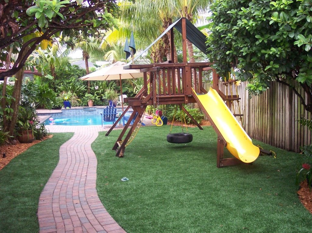 The perfect outdoor living space for the whole family! www