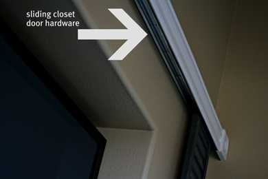DIY  Hide Your TV. Sliding Closet DoorsSliding ...
