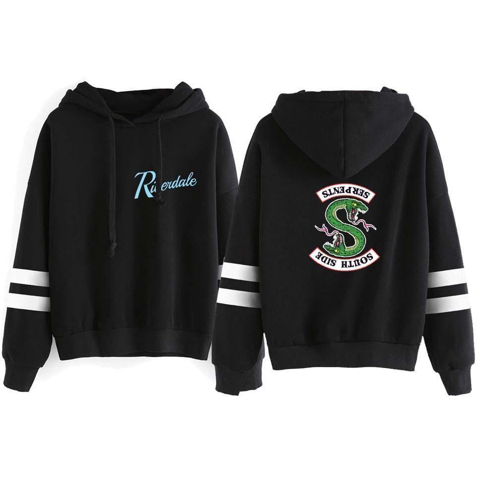 Serpent Of Riverdale Crewneck Sweatshirt South Side Serpents Jumper Jacket Mens