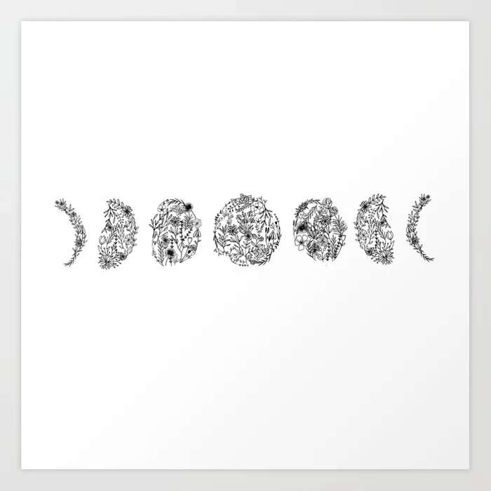 Silver Tone Framed Claim Your Magic Print