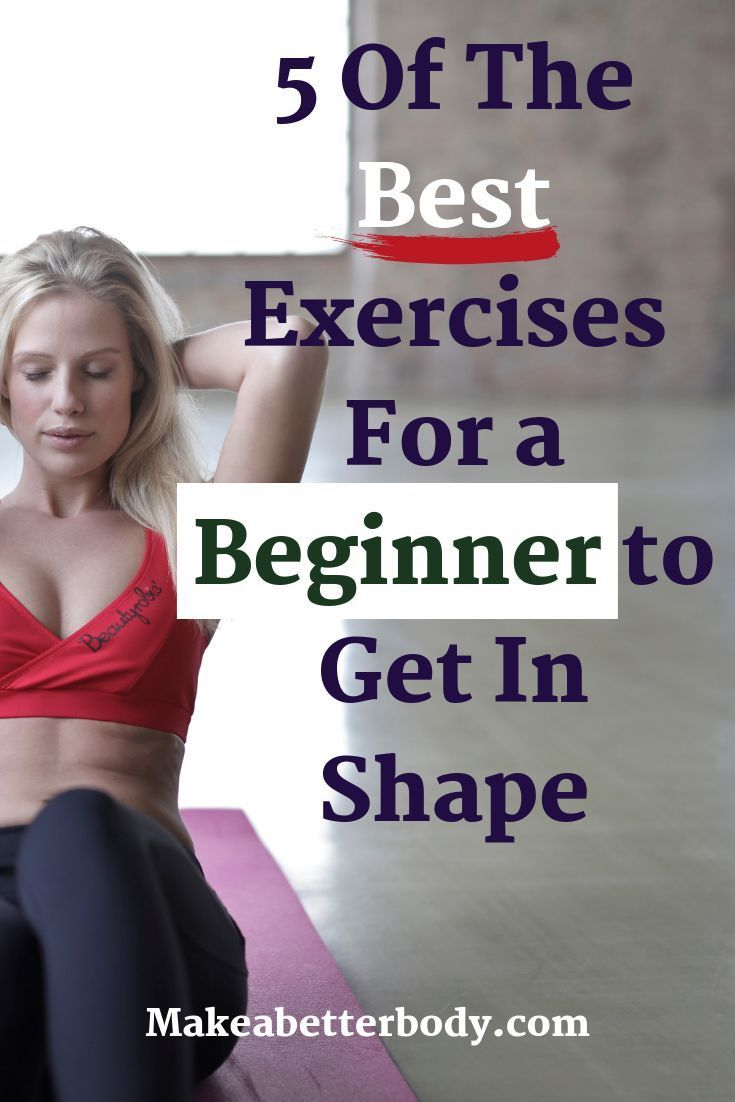 5 Of The Best Exercises For A Beginner's At Home Workout - Make A Better Body