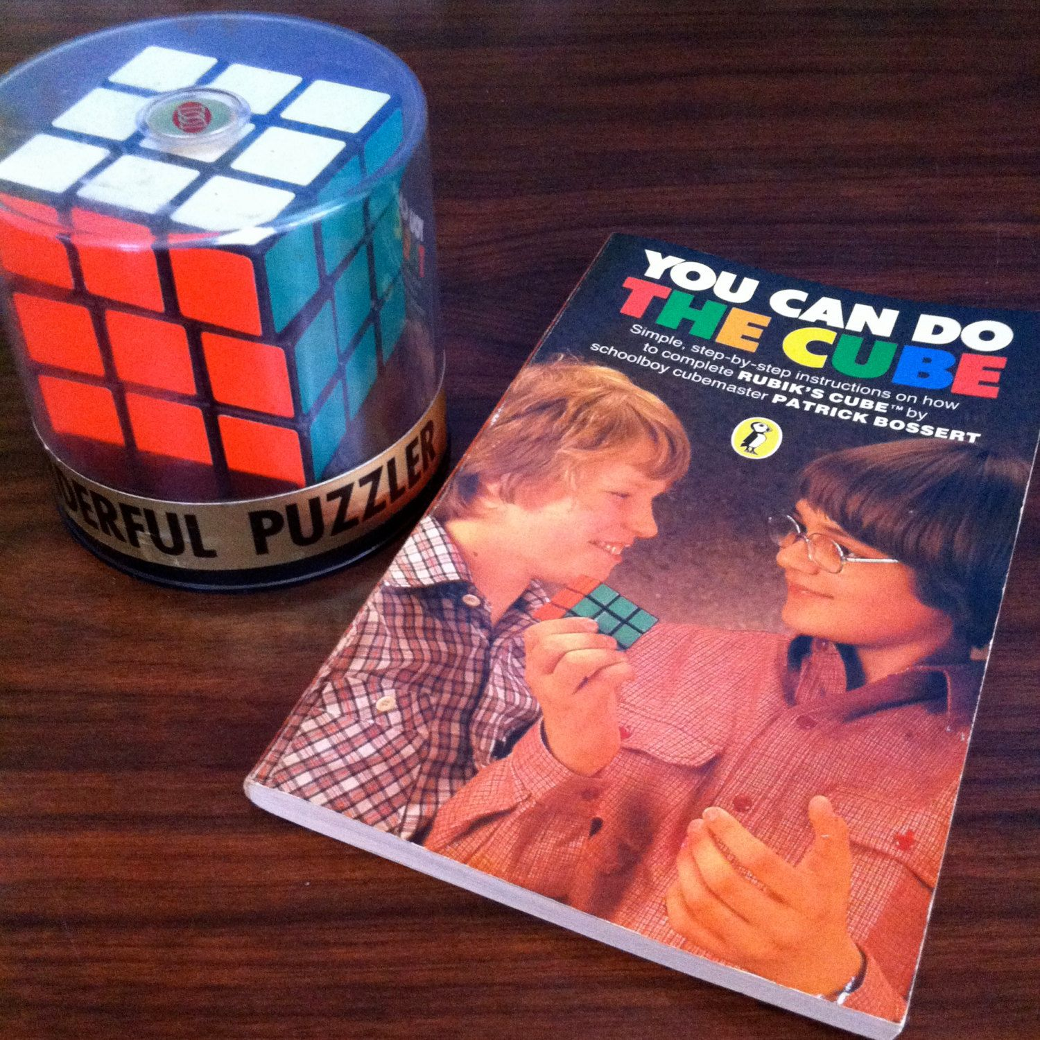 Good Vintage Rubiku0027s Cube U0026 Solution Book You Can Do The Cube By Patrick Bossert  By Theplunderdome Gallery