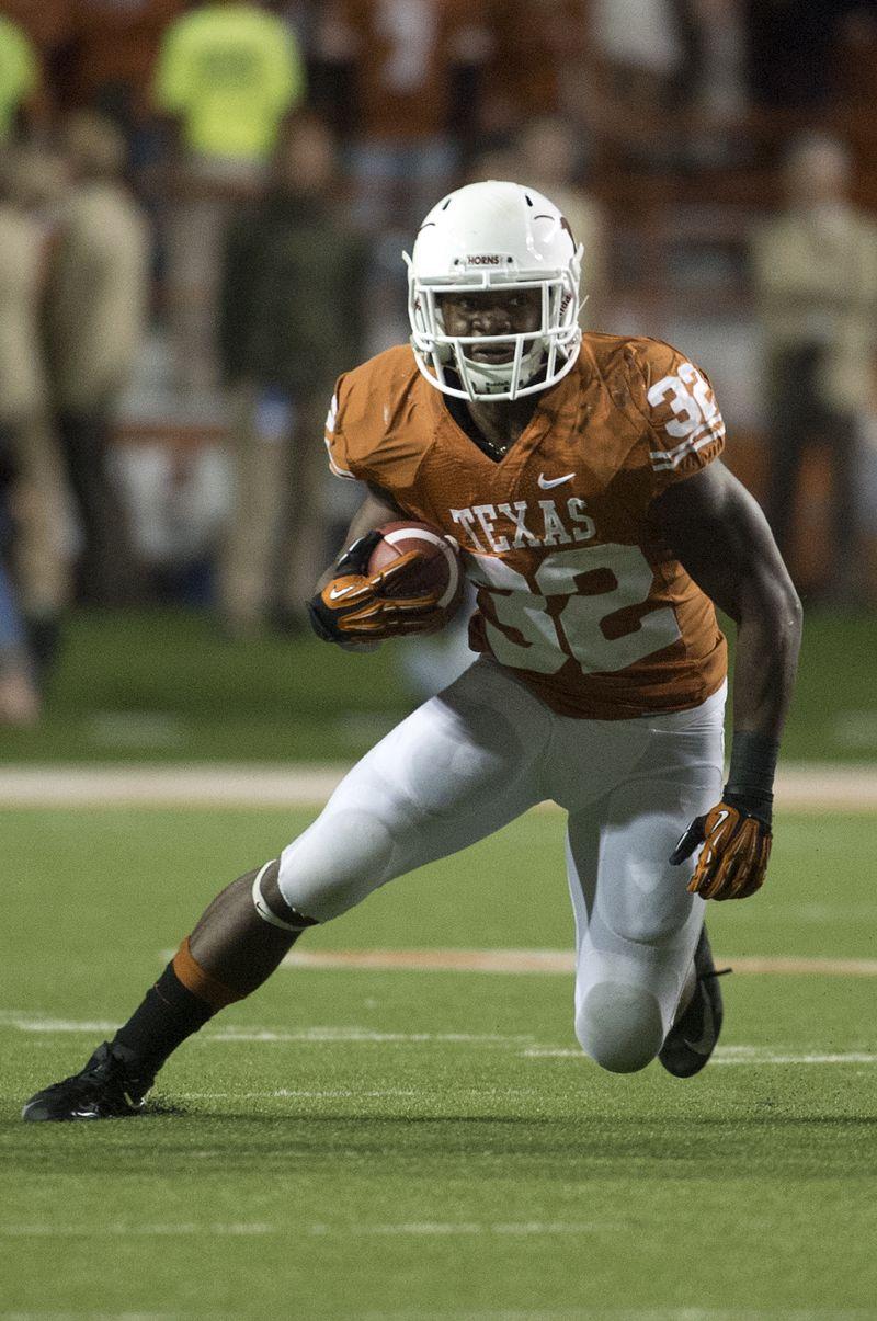 Johnathan gray 32 texas football longhorns football