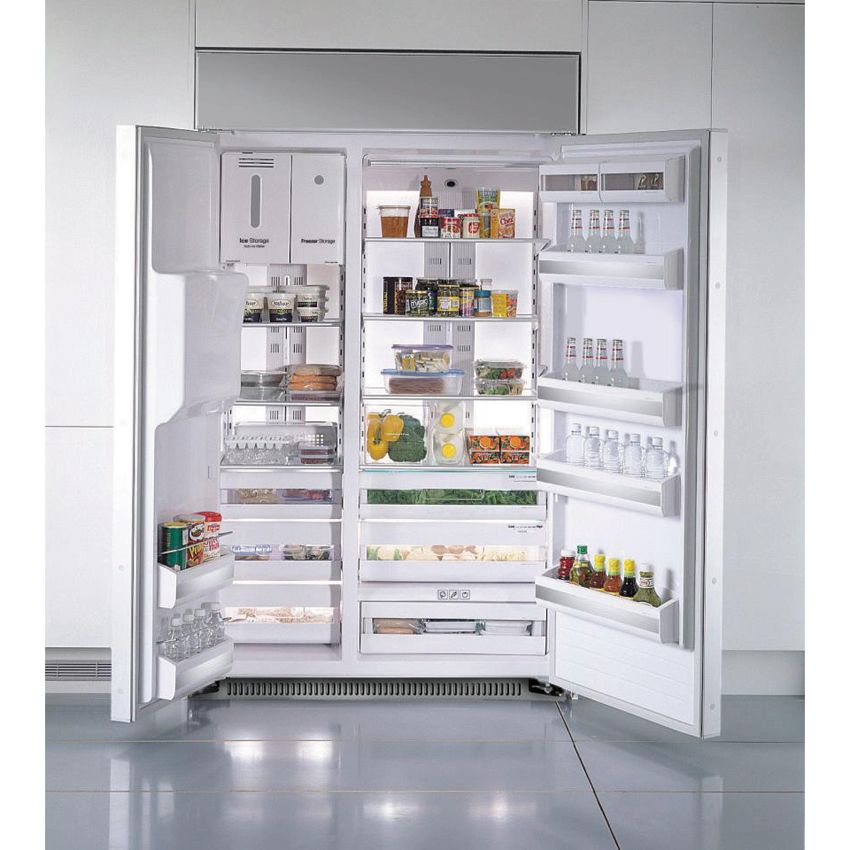Samsung Appliance 48 Built In Side By Side Refrigerator With 26 5