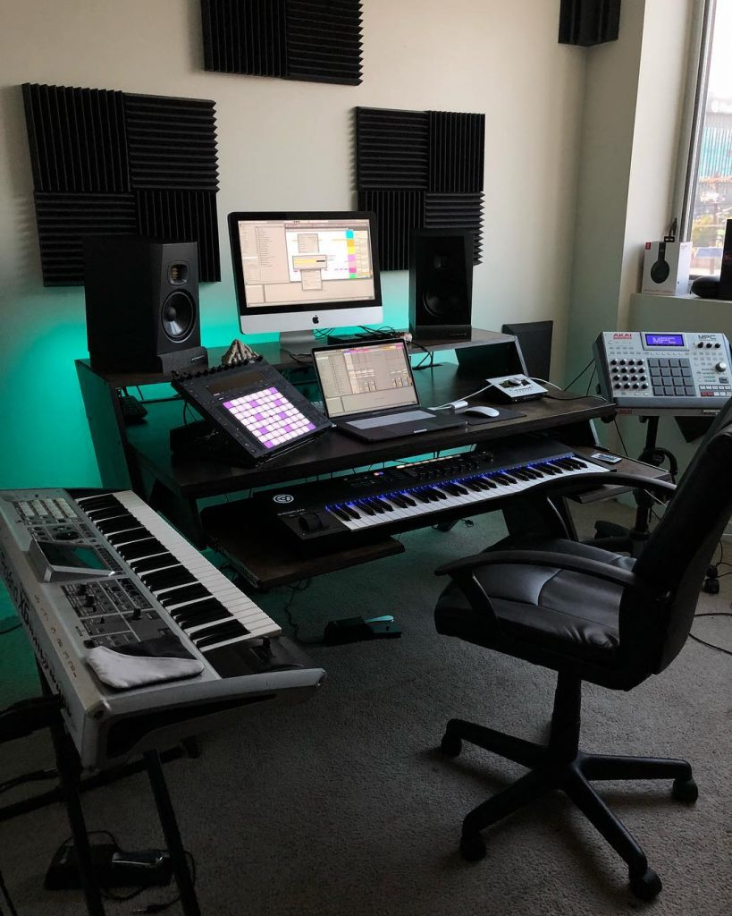 Music Image By Ebo Media Productions Home Recording Studio Setup