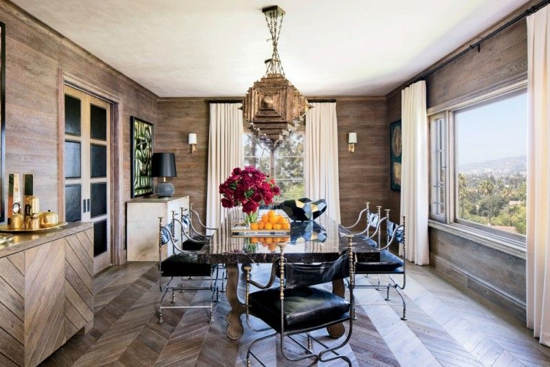 16 Delicious Dining Rooms  Room Dining And Chevron Floor Best Modern Dining Room Design Design Inspiration