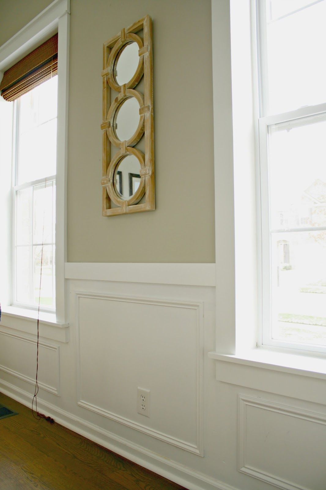 Our Home Wainscoting Styles Craftsman Window Trim Diy Wainscoting
