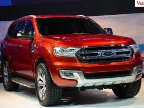Dịch vụ cho thuê xe ô tô 7 chỗ Ford Everest giá rẻ nhất Hà Nội