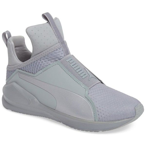 grey high top trainers womens