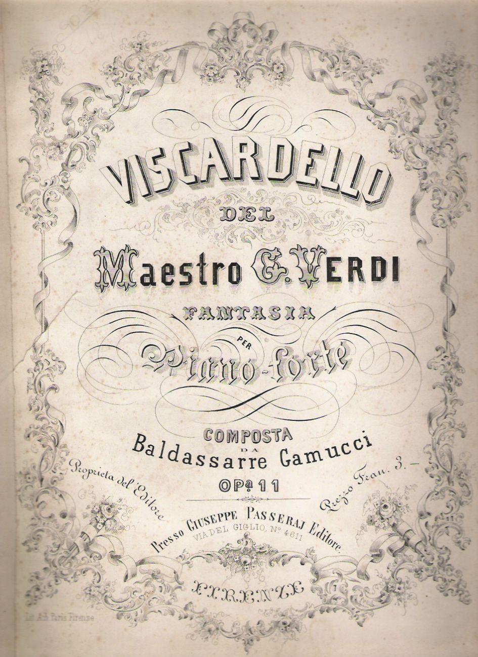 VIVA VERDI 2013: GIUSEPPE VERDI e il VISCARDELLO in collezione LAMB...