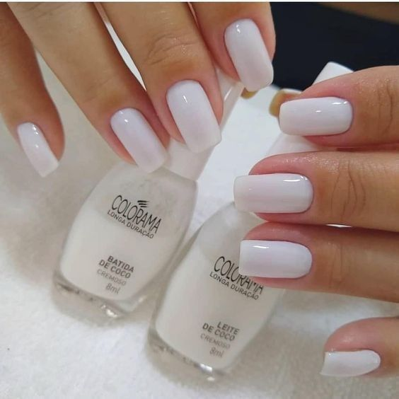 White for nails, I love it! - Nagel Love Time 2020
