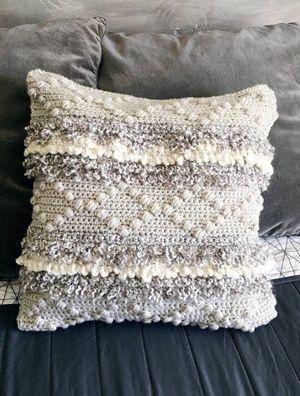 Patrons de crochet d'oreiller – Mettez à jour votre maison – Une vie plus astucieuse   – Crochet: Techniques & Tips