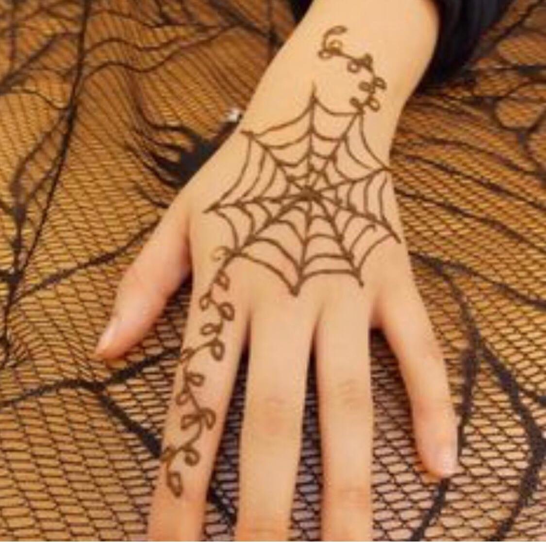 Halloween Heena Henna Tattoo Designs Henna Designs Henna