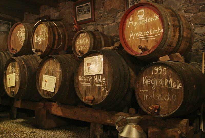 Upeat viinikellarit ovat Madeiralla vierailun arvoisia. #viinikellari #viinit #Madeira #Aurinkomatkat