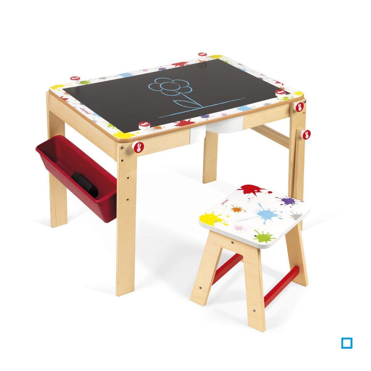 Bureau Enfant 2 Ans bureau modulable 2 en 1 splash - jurj09609 - taille : taille