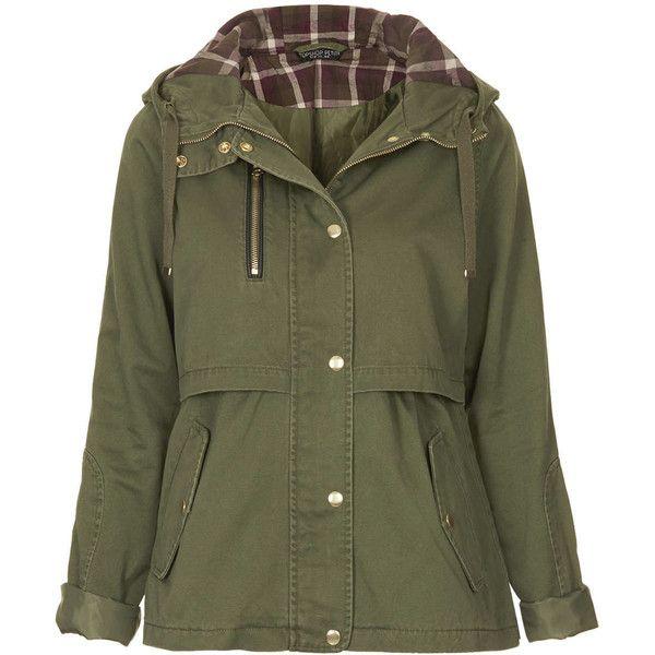 TOPSHOP Petite Lightweight Jacket ($46) ❤ liked on Polyvore ...