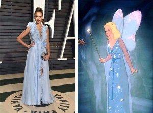 Jessica Alba in Ralph   Russo Couture come la Fata Turchina di Pinocchio 2d70821bdad