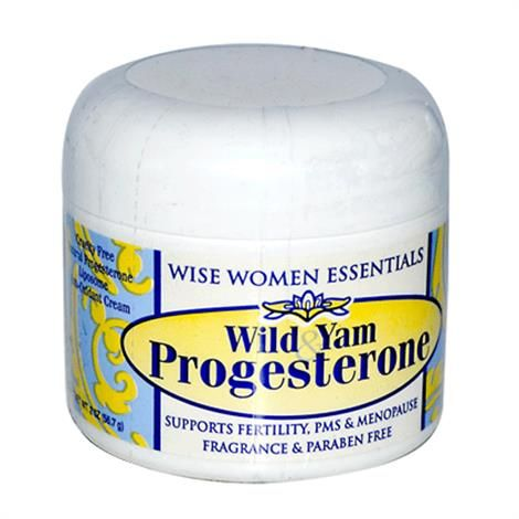 Wise Essential Wild Yam Progesterone Cream is a