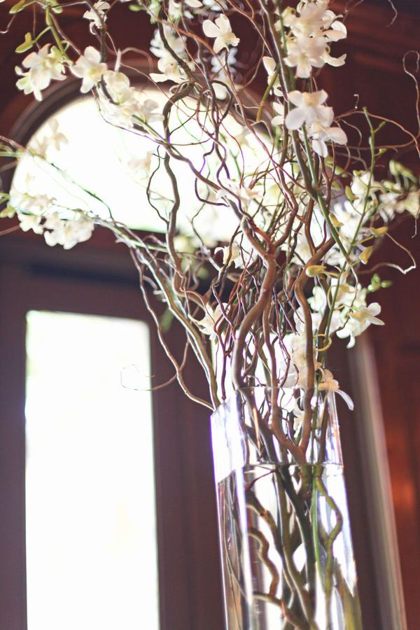 beautiful natural centerpiece @Style Me Pretty