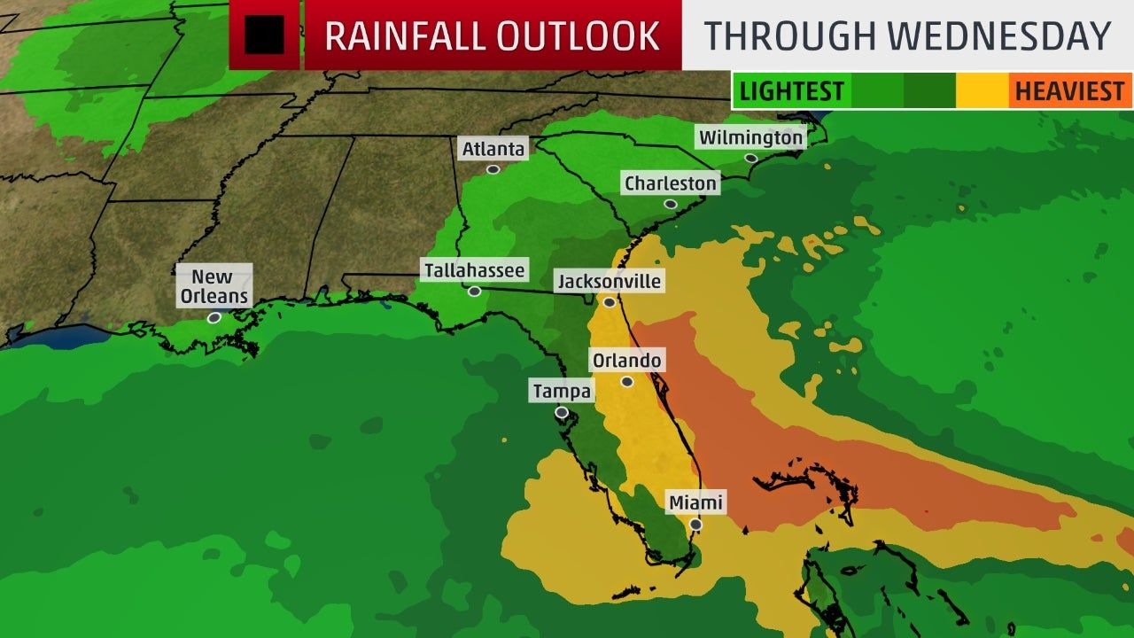 Hurricane Dorian Expected To Intensify Into A Category 4 Poses A Growing Danger To Florida Southeastern U S The Weather Channel The Weather Channel National Hurricane Center Georgia Coast