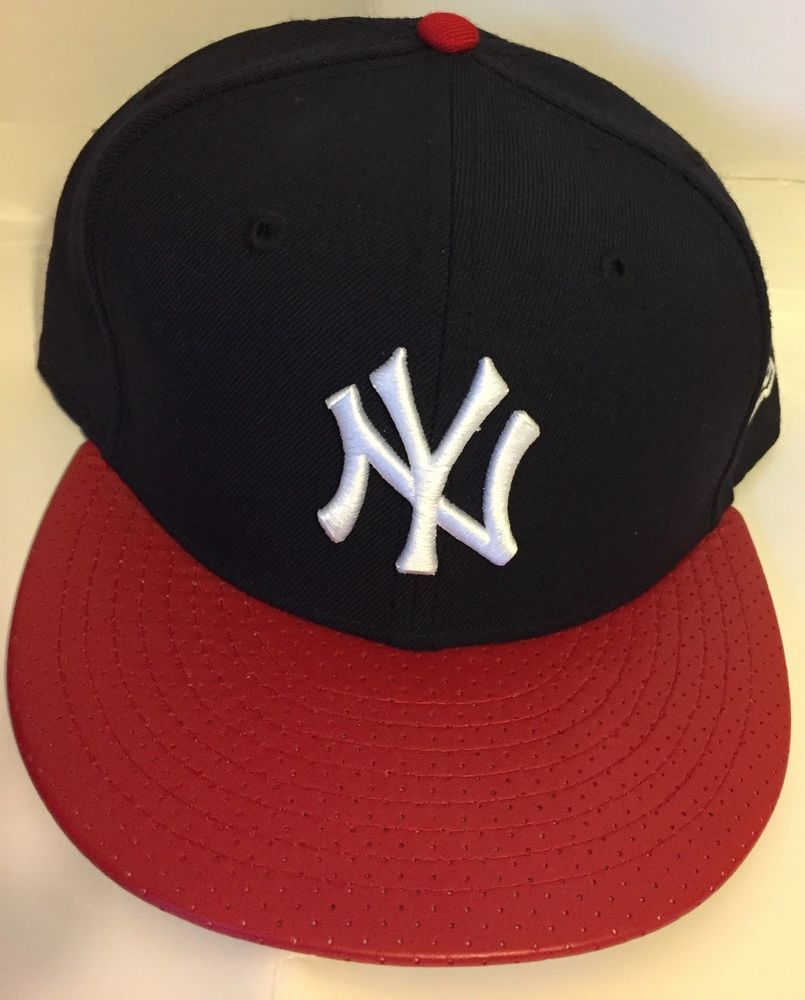 0a8526ad7cb New Era New York Yankees GAME 59Fifty Fitted Hat (Navy red) MLB Cap ...