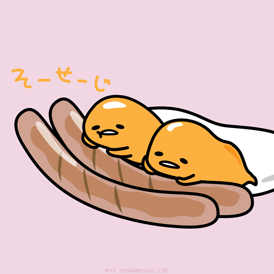 Gudetama chibi. With a side of