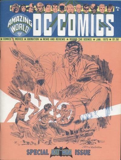 The Amazing World of DC Comics #4