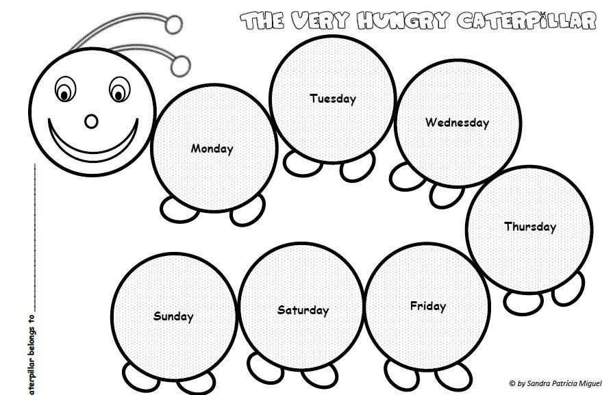 The Very Hungry Caterpillar - sequence (1st/2nd Grade) - Teacher\'s ...
