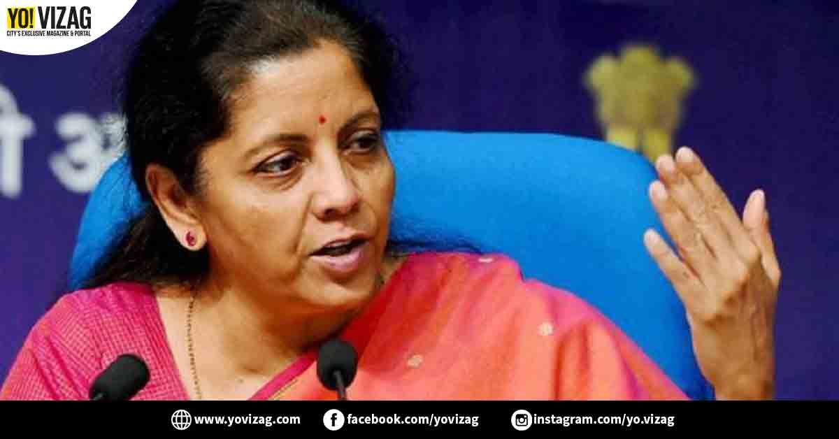 Union Minister Of Finance And Corporate Affairs Of India Nirmala