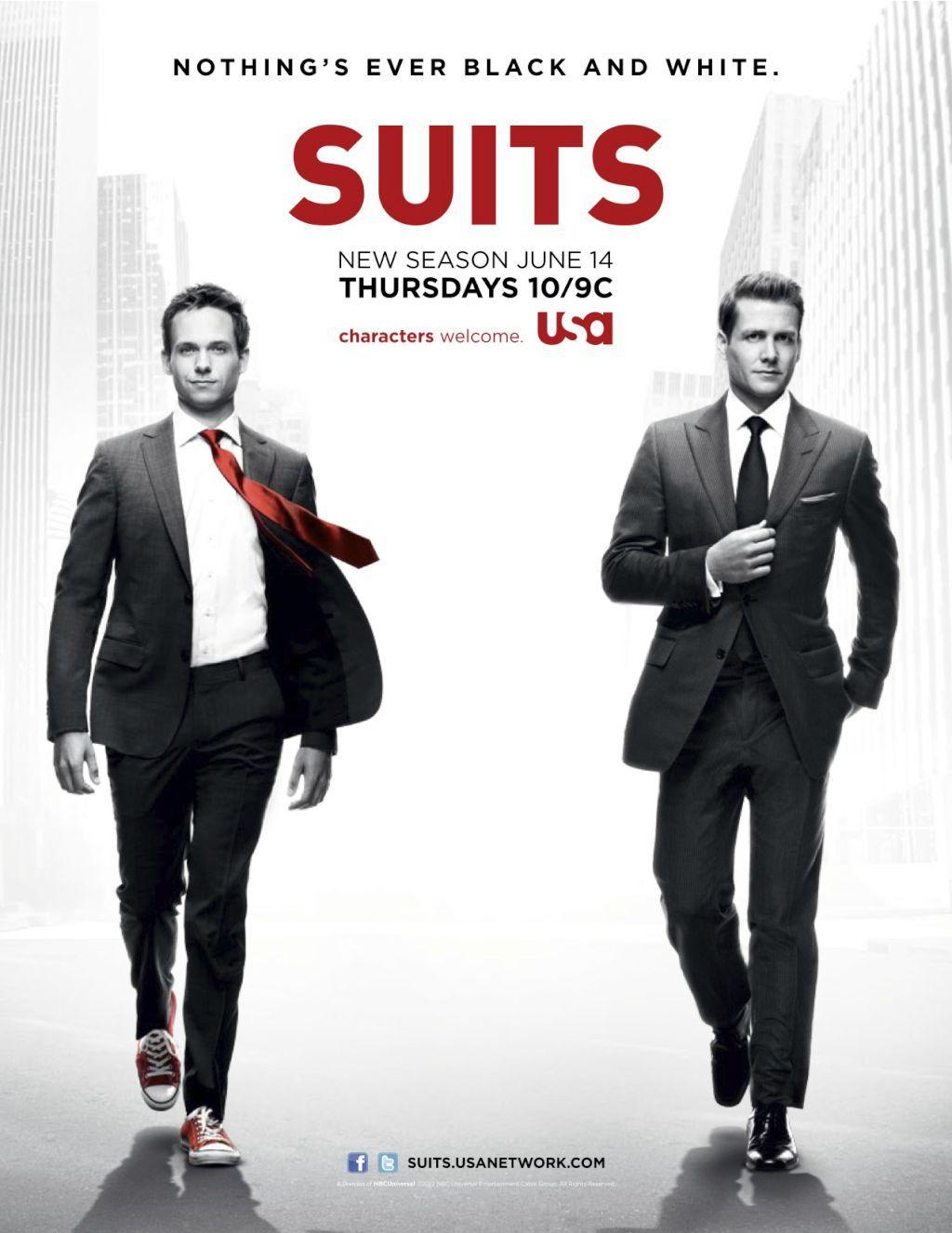 Suits | Patrick J. Adams & Gabriel Macht