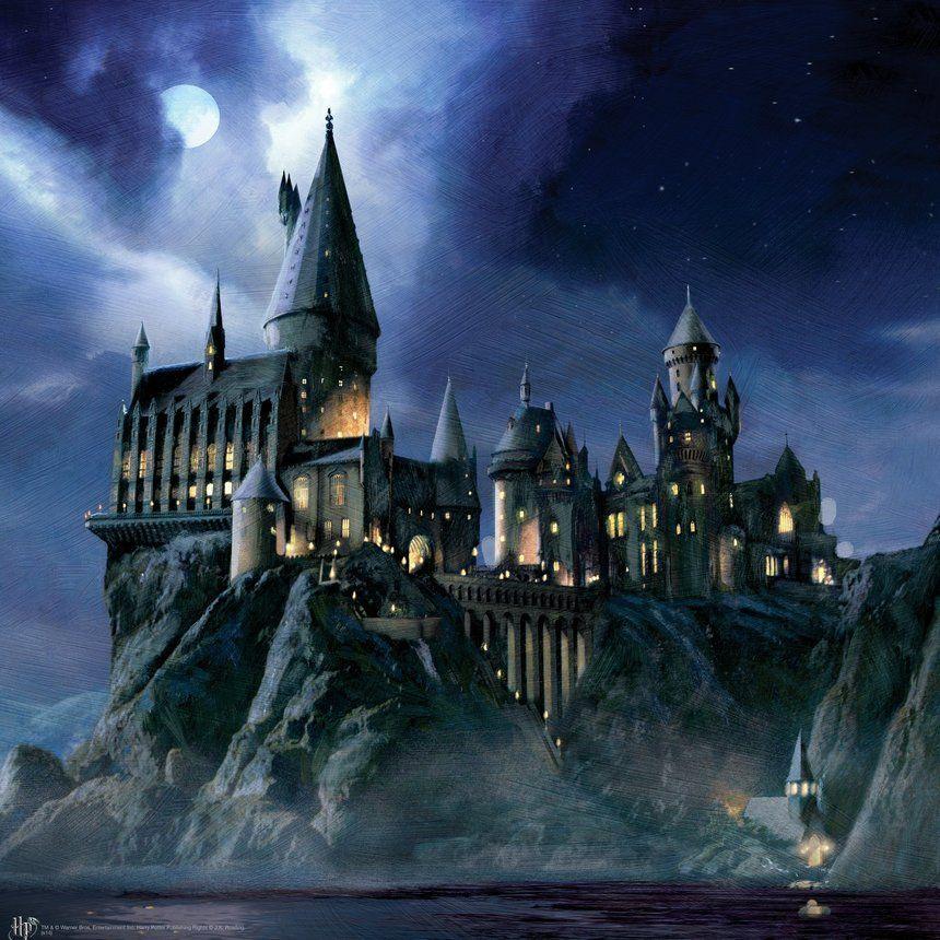 Картинки замка гарри поттер