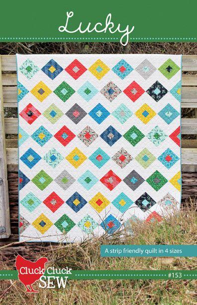 Lucky quilt pattern || Cluck Cluck Sew | quilt | Pinterest | Cluck ... : sew and quilt shop - Adamdwight.com